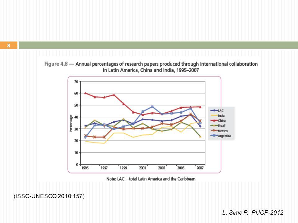 8 (ISSC-UNESCO 2010:157) L. Sime P. PUCP-2012