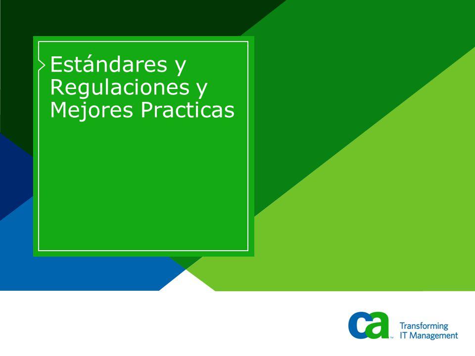 Estándares y Regulaciones y Mejores Practicas