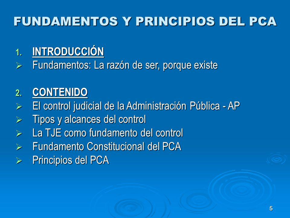6 CONTROL DE LAS ACTUACIONES DE LA AP 1.