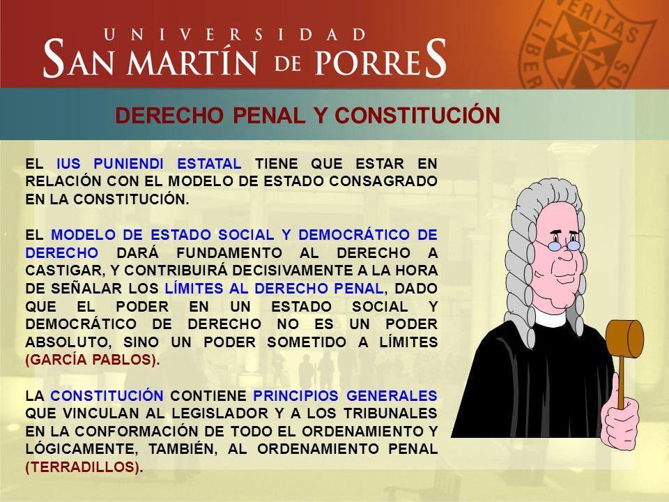 LOS PRINCIPIOS REGULADORES DEL CONTROL PENAL CONCEPTO Y FUNCIÓN SON POLÍTICAS (SENTIDO ESTRICTO) QUE DEFINEN PAUTAS DE ACTUACIÓN Y DE LIMITACIÓN DEL PODER DEL ESTADO EN EL DOMINIO DE LAS DECISIONES DE POLÍTICA PENAL.