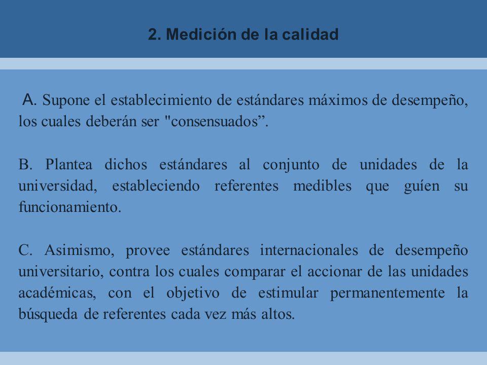 2.Medición de la calidad A.