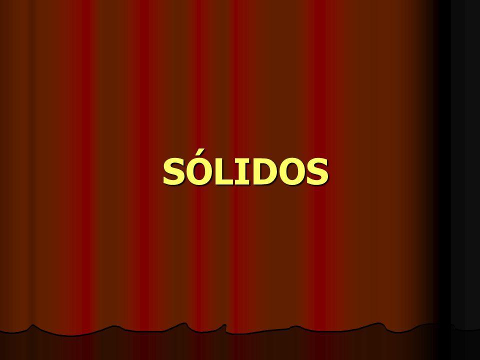 SÓLIDOS