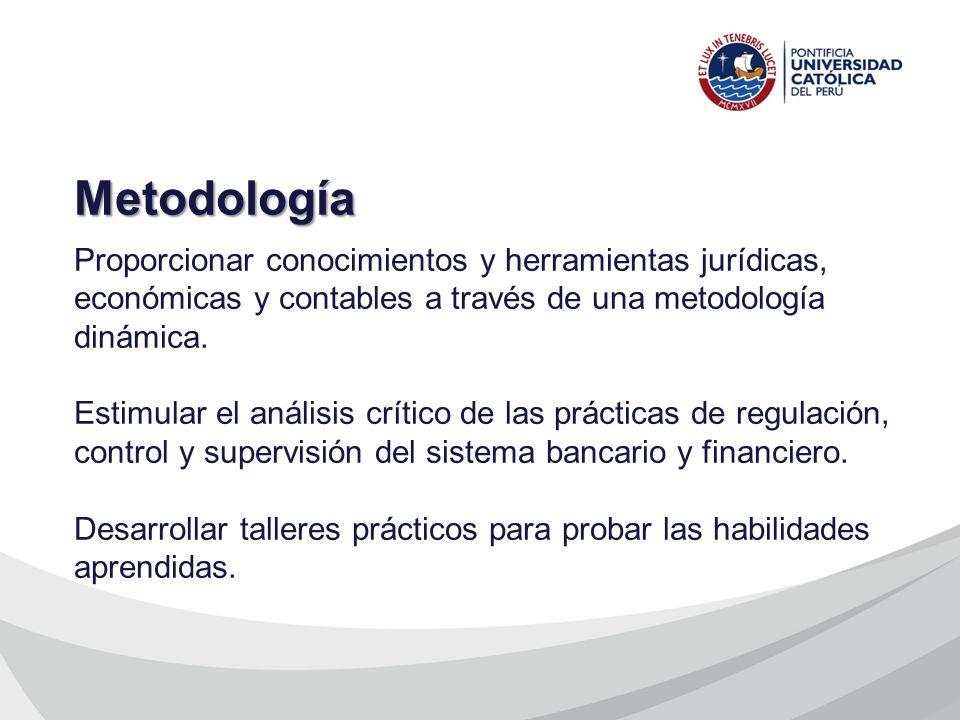 Proporcionar conocimientos y herramientas jurídicas, económicas y contables a través de una metodología dinámica. Estimular el análisis crítico de las
