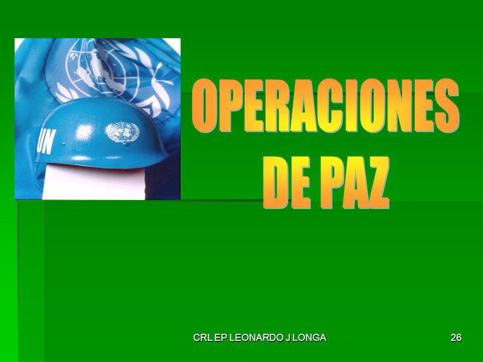 CRL EP LEONARDO J LONGA 26