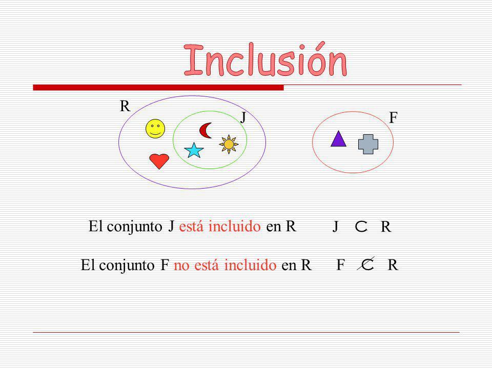 U = { pegamento, tijera, crayola } La intersección de dos o más conjuntos es el conjunto formado por los elementos comunes de dichos conjuntos.