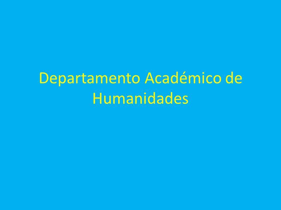 Departamento Académico de Humanidades