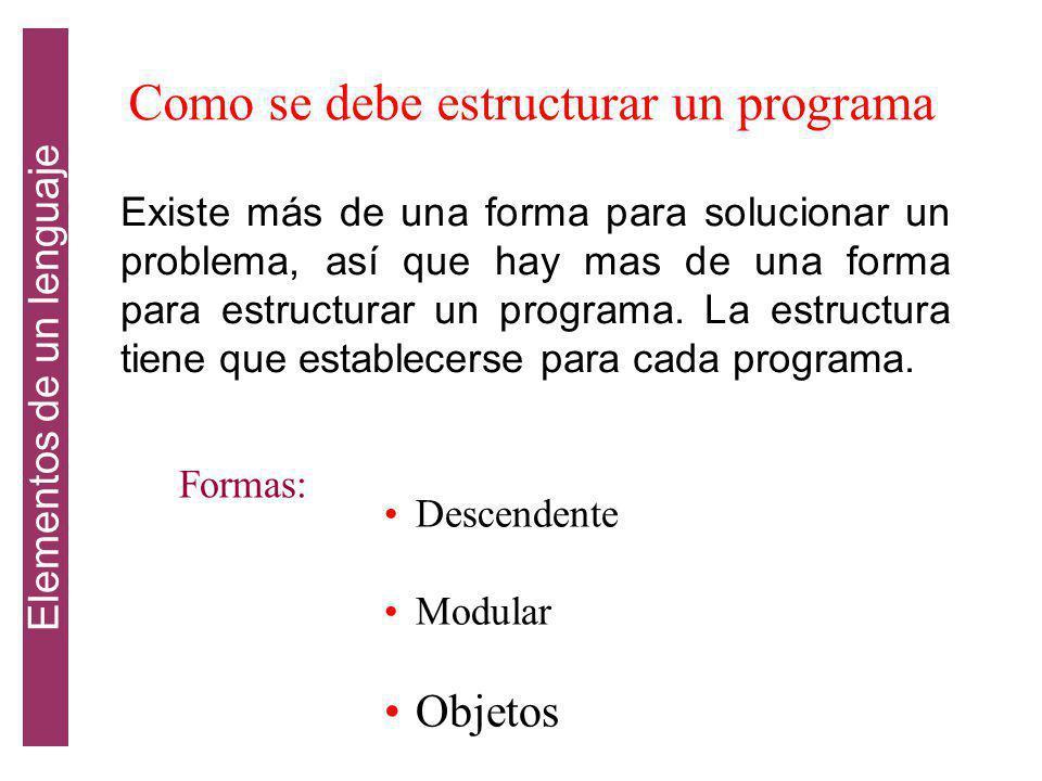 Categoria de los lenguajes Clasificación de los lenguajes de programación