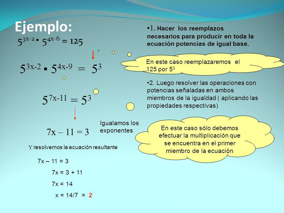 Ejemplo 2 3 4x-10.1 2x-6 = 1 3 1.