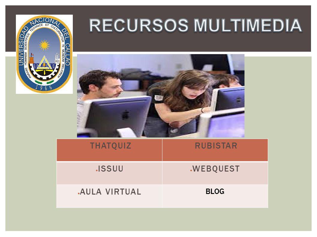 (Evaluaciones Virtuales) ThatQuiz es una plataforma que nos ofrece on-line un servicio de pruebas electrónicas gratis para maestros/as.