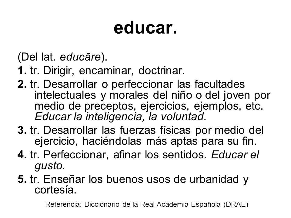 Educación Pocos dudan de la necesidad de invertir en educación.