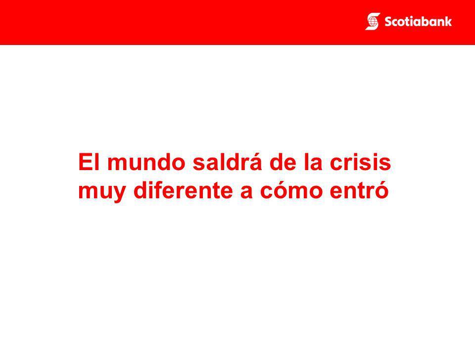 El mundo saldrá de la crisis muy diferente a cómo entró