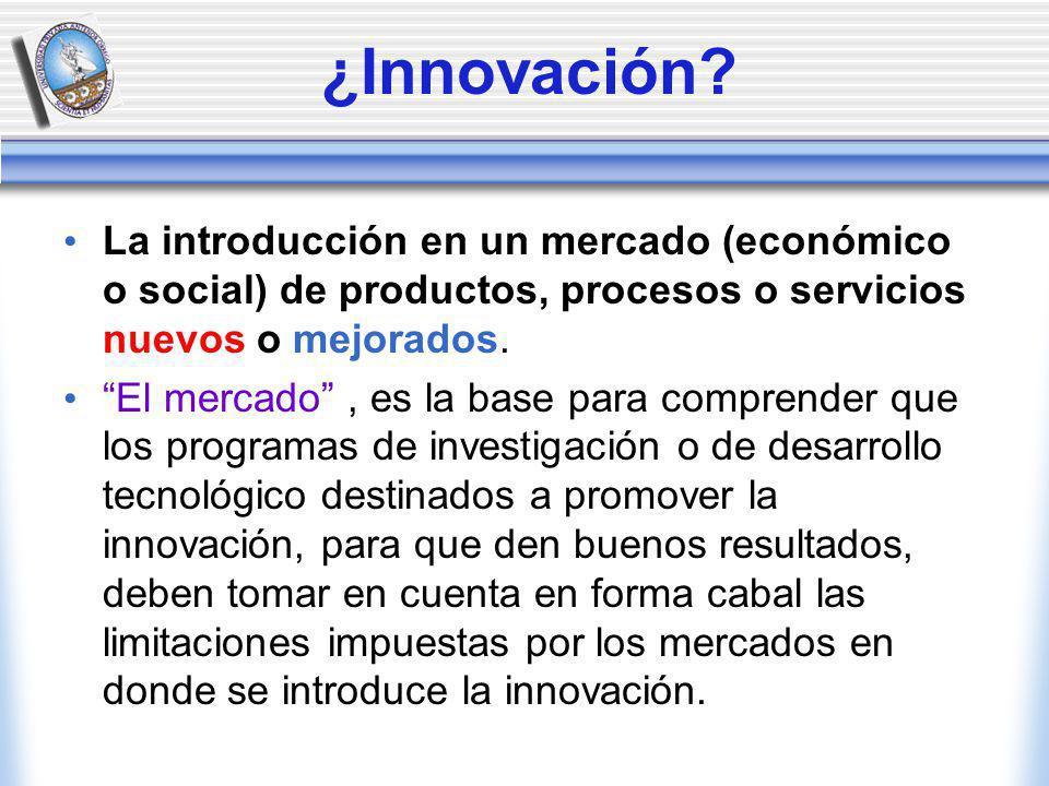 ¿Innovación.