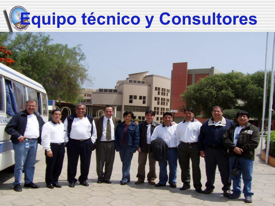 Equipo técnico y Consultores