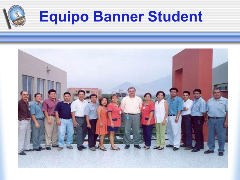 Equipo Banner Student
