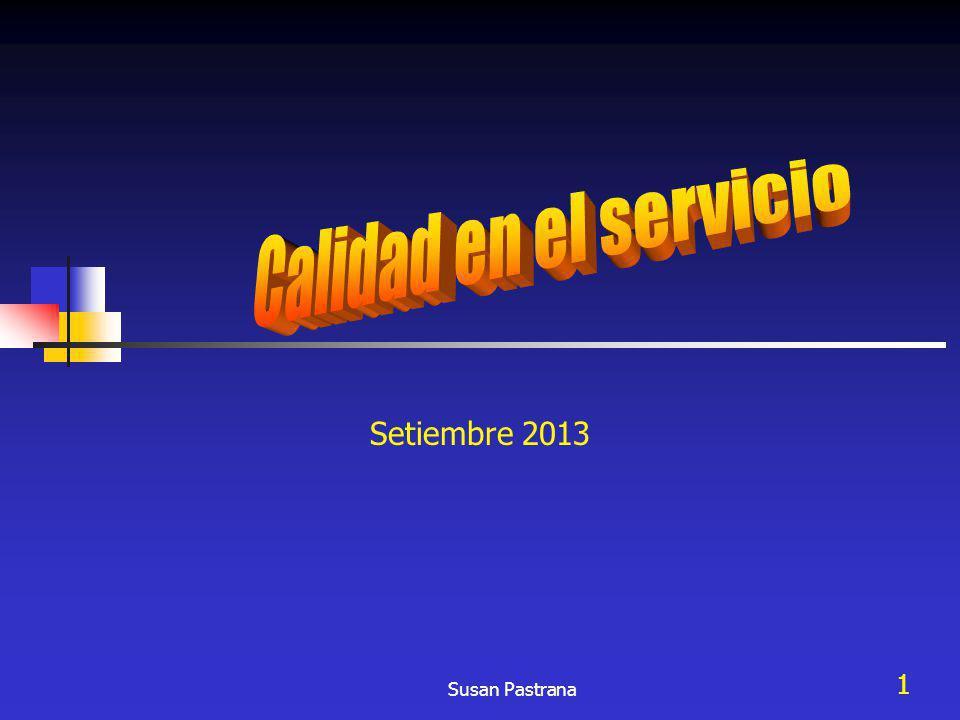 12 Diferencia entre las especificaciones de la calidad del servicio y la prestación del servicio