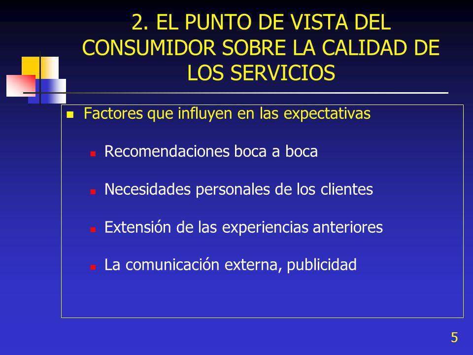 6 Evaluación de la calidad del servicio por el cliente