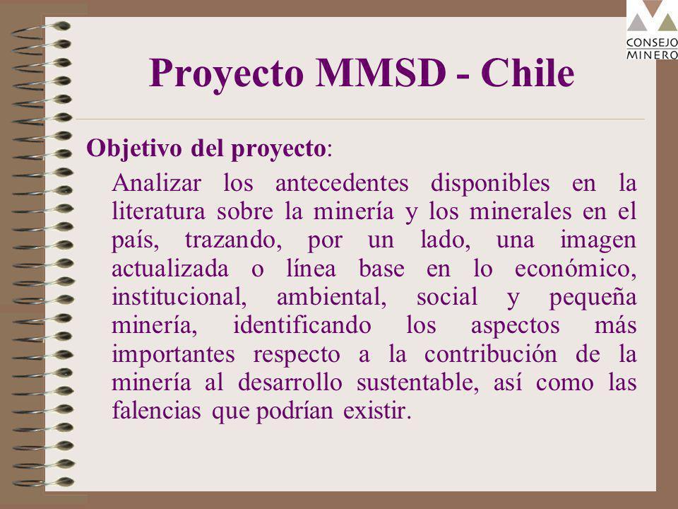 ¿ Es ello una casualidad? Chile es centro mundial de la minería