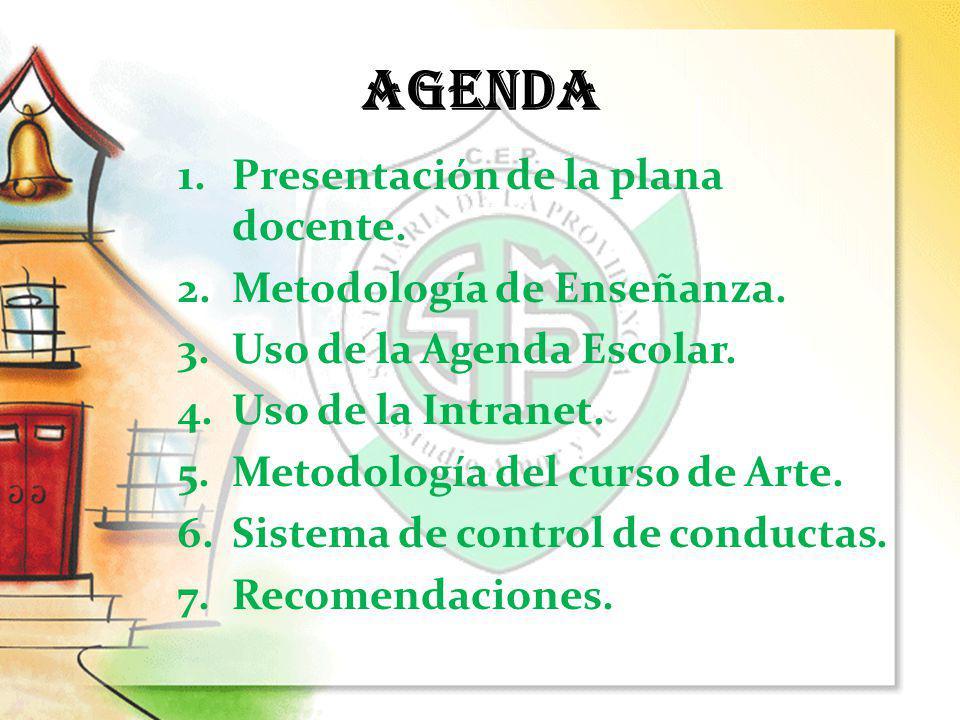 Basada en el Reglamento Interno y Normativa Disciplinaria Del Centro Educativo.