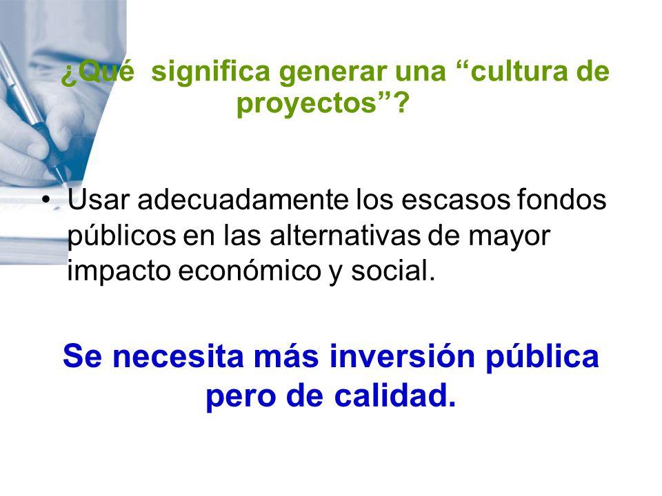 MARCO DE REFERENCIA DEL PROYECTO Debe incluirse un resumen informativo de los antecedentes del PIP.