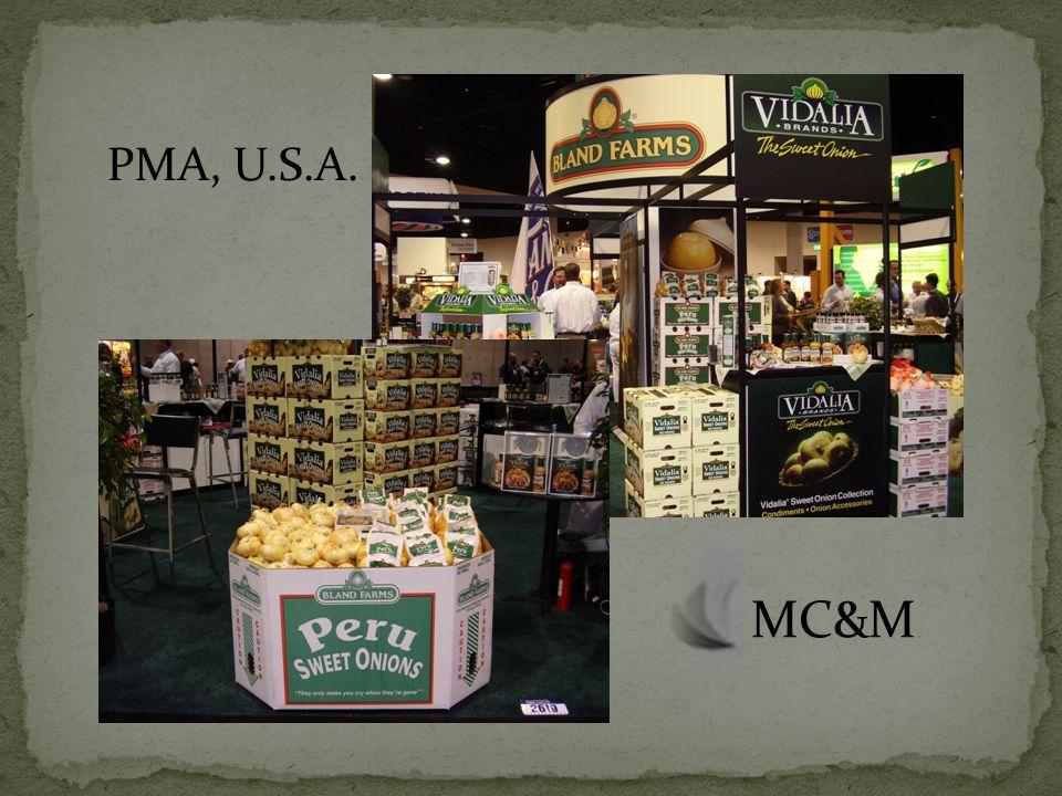 PMA, U.S.A. MC&M