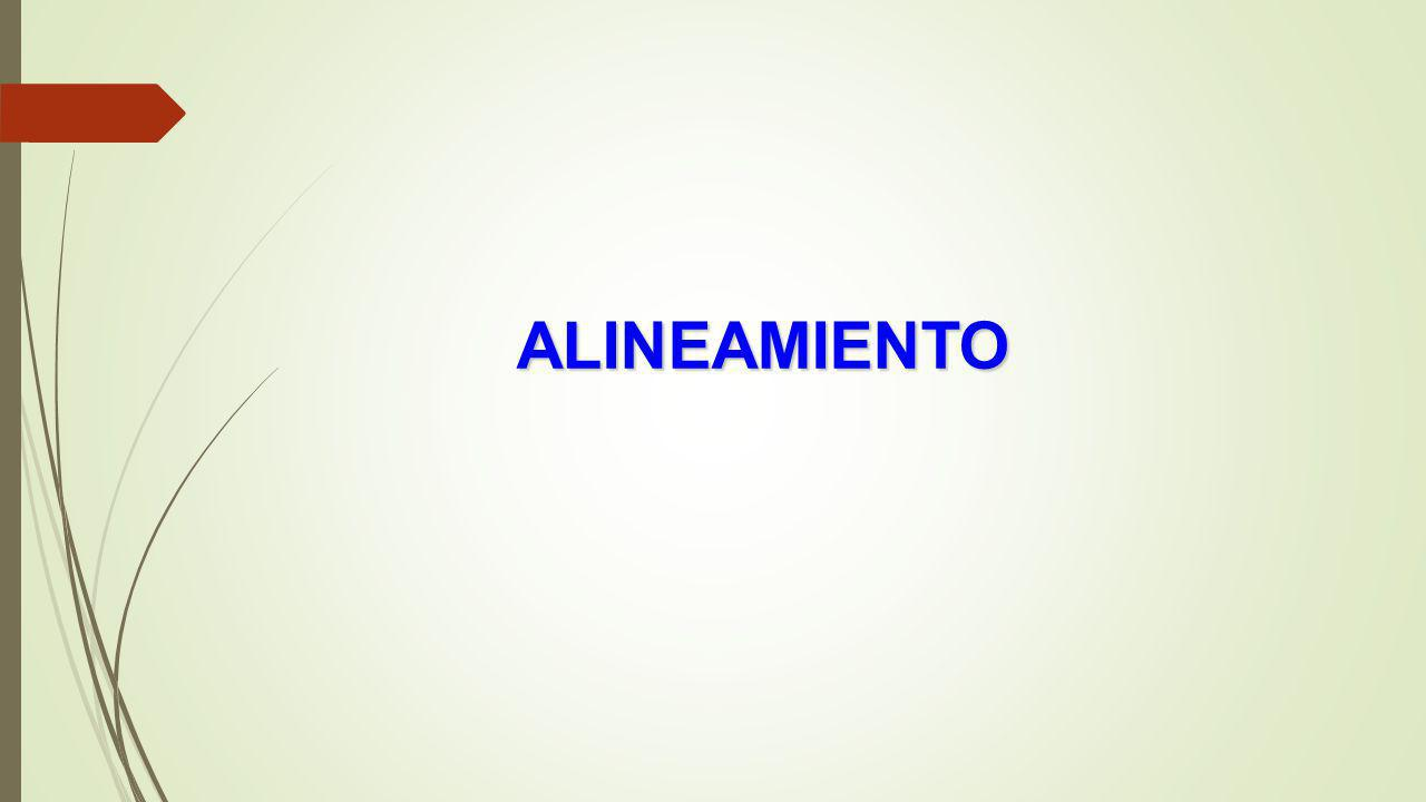 ALINEAMIENTO