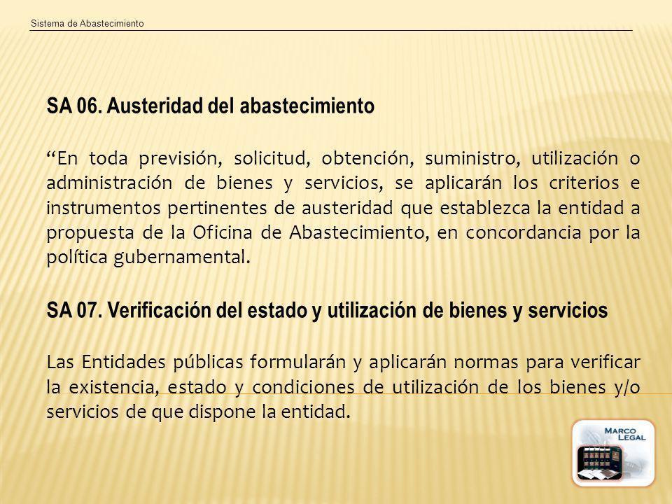 Sistema de Abastecimiento SA 06.