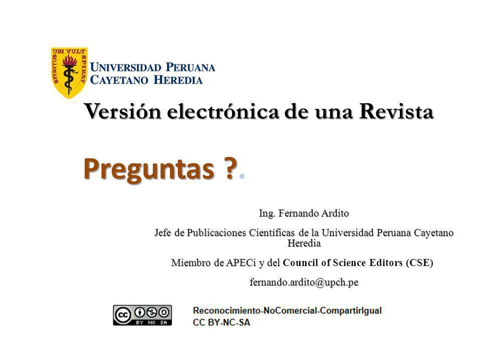 Versión electrónica de una Revista Versión electrónica de una Revista Ing.