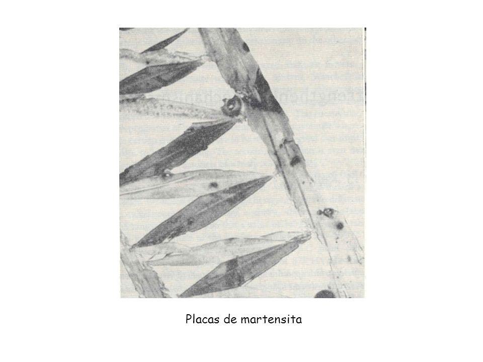 Placas de martensita