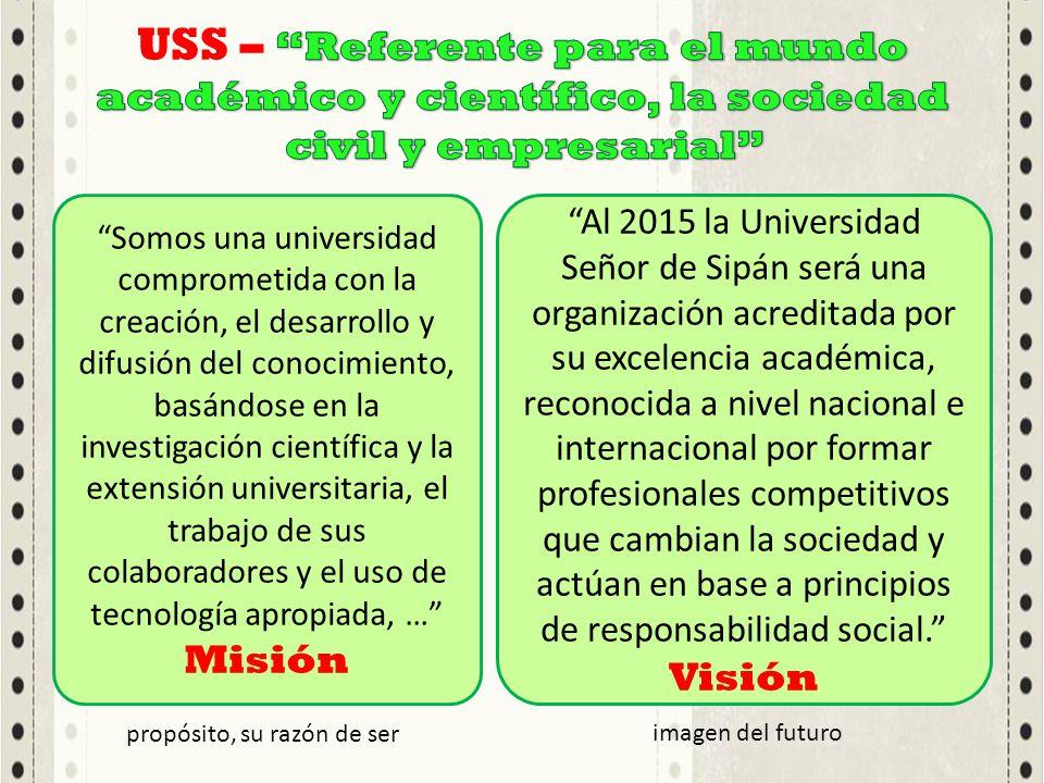 Somos una universidad comprometida con la creación, el desarrollo y difusión del conocimiento, basándose en la investigación científica y la extensión