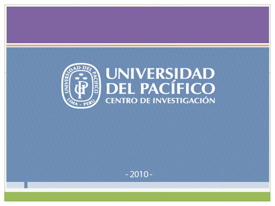 CENTRO DE INVESTIGACIÓN DE LA UNIVERSIDAD DEL PACÍFICO La heterogeneidad del impacto de la educación inicial sobre el rendimiento escolar en el Perú Arlette Beltrán Janice Seinfeld