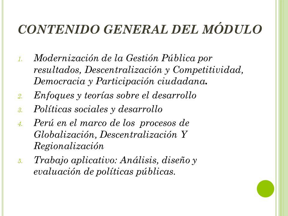 CONTENIDO GENERAL DEL MÓDULO 1.