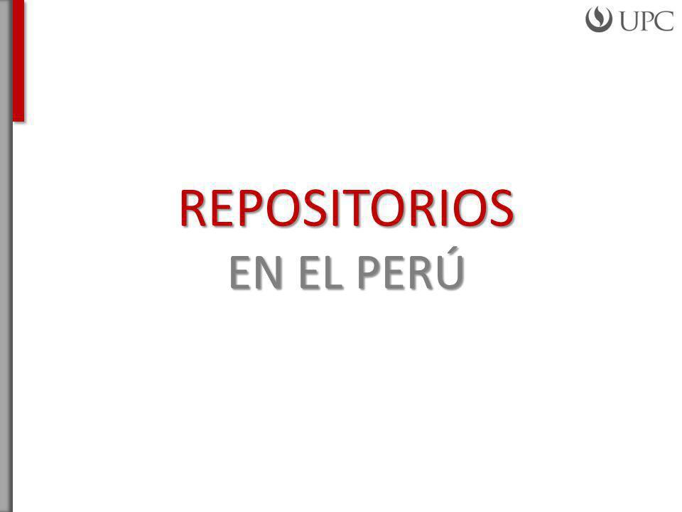 REPOSITORIOS EN EL PERÚ