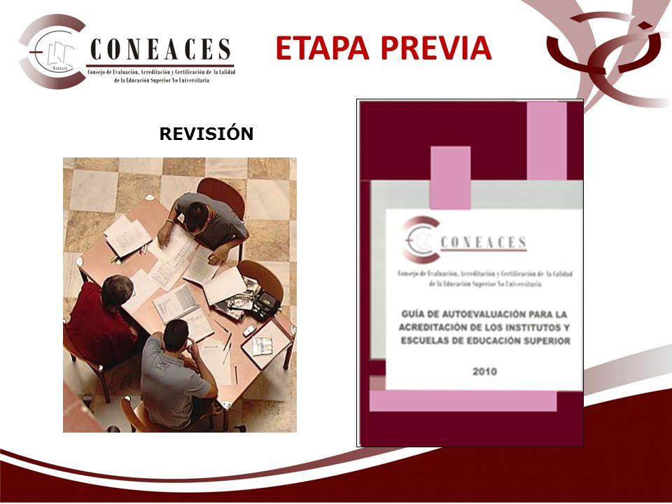 ETAPA PREVIA REVISIÓN