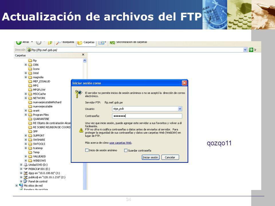 qozqo11 34 Actualización de archivos del FTP