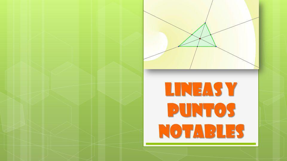 ALTURA Es el segmento de recta que va desde un vértice de un triángulo hasta el lado opuesto o su prolongación y es perpendicular a éste.
