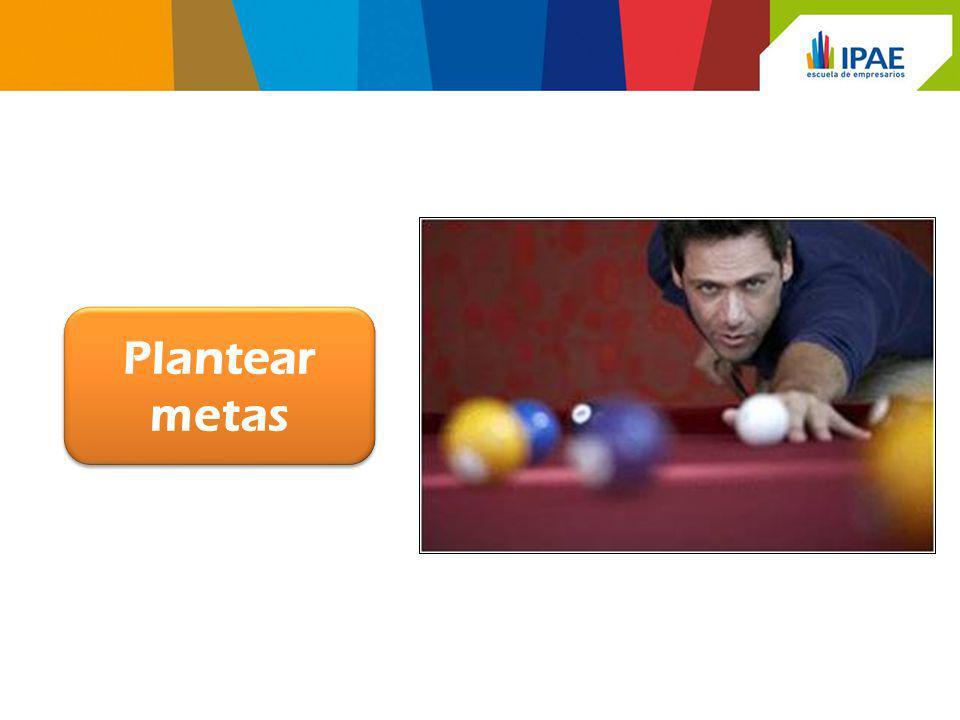 Plantear metas