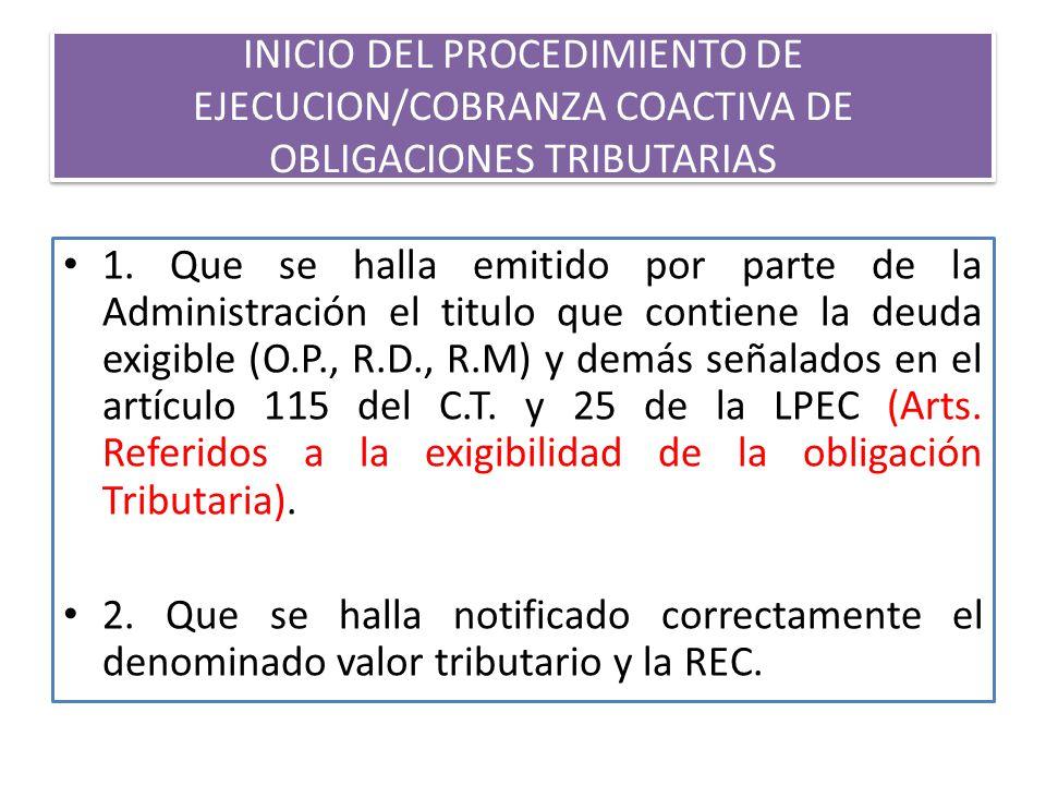 Resumen: Deuda exigible en cobranza coactiva para Obligaciones No Tributarias y Tributarias) D.S.