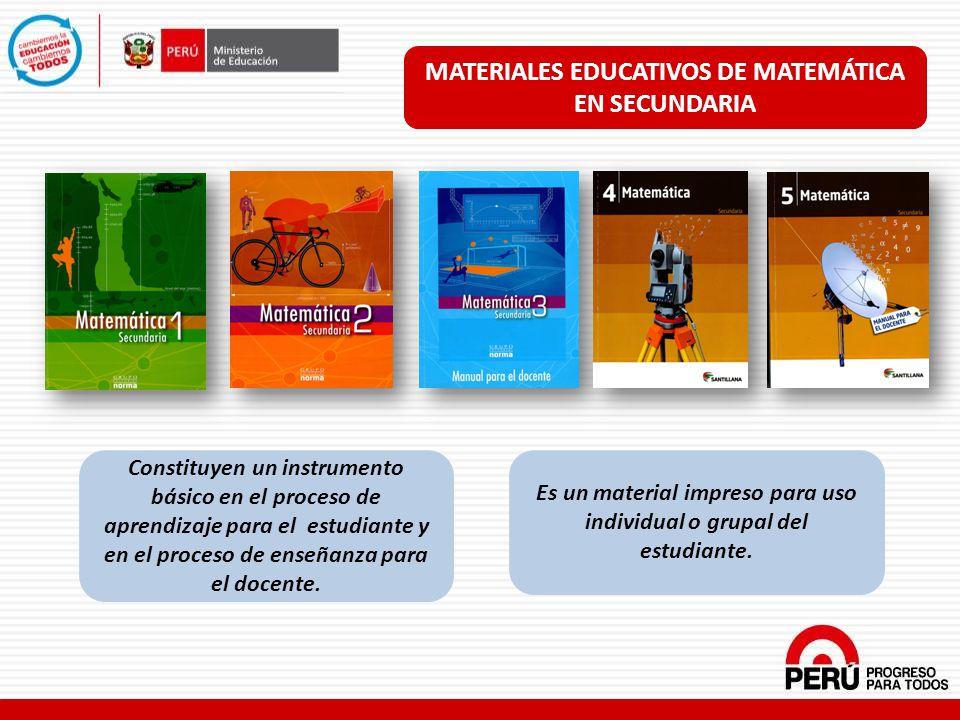 Constituyen un instrumento básico en el proceso de aprendizaje para el estudiante y en el proceso de enseñanza para el docente. Es un material impreso