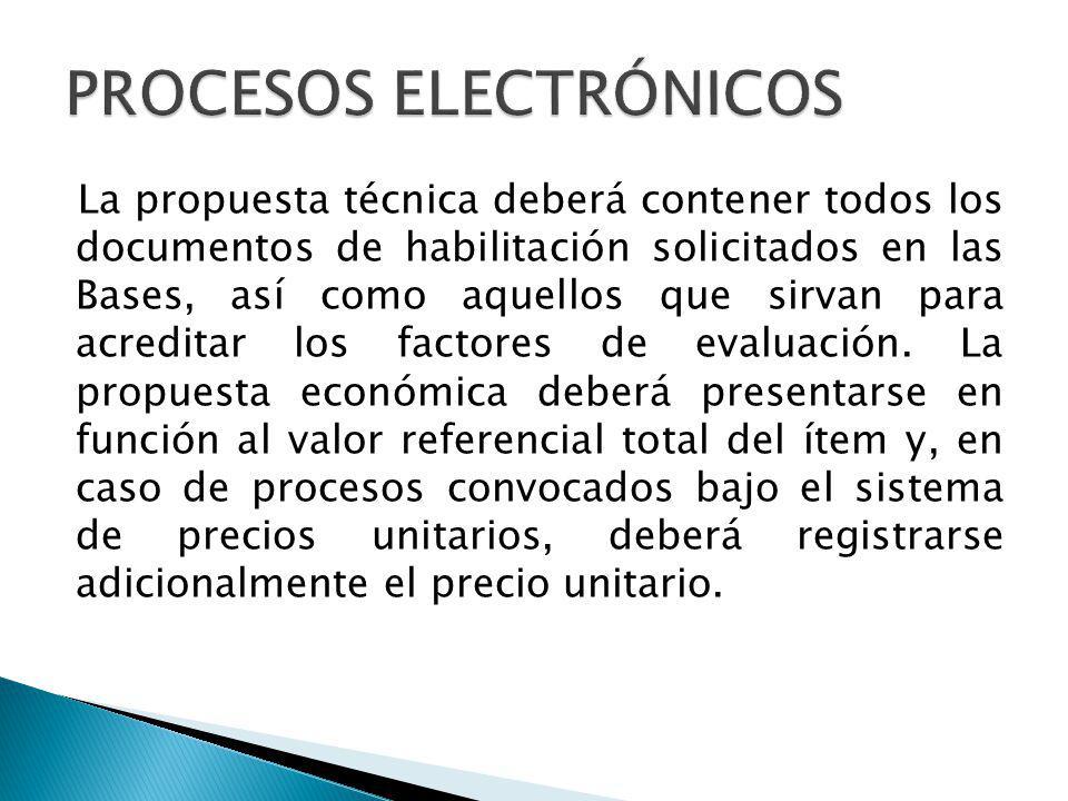 El funcionario autorizado de la Entidad ingresará al SEACE en la fecha y hora establecidas en el calendario del proceso, utilizando su certificado SEACE, y procederá a la apertura electrónica de las propuestas técnicas.