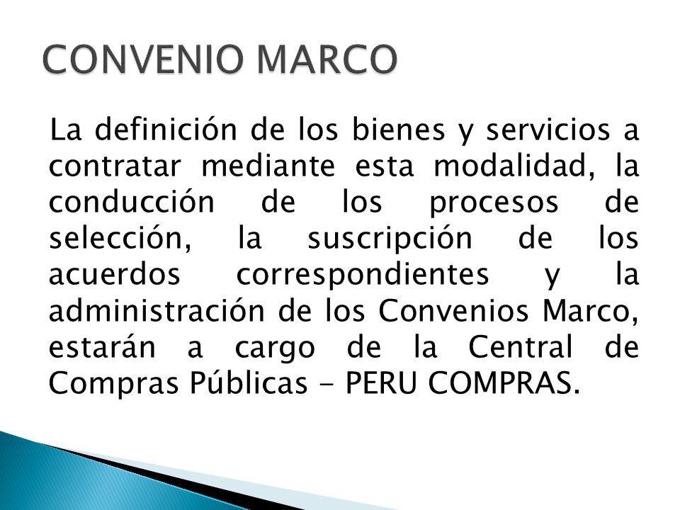 La contratación de un bien o servicio utilizando el Catálogo Electrónico de Convenios Marco resulta obligatoria desde el día siguiente a la publicación de las fichas respectivas en el SEACE.