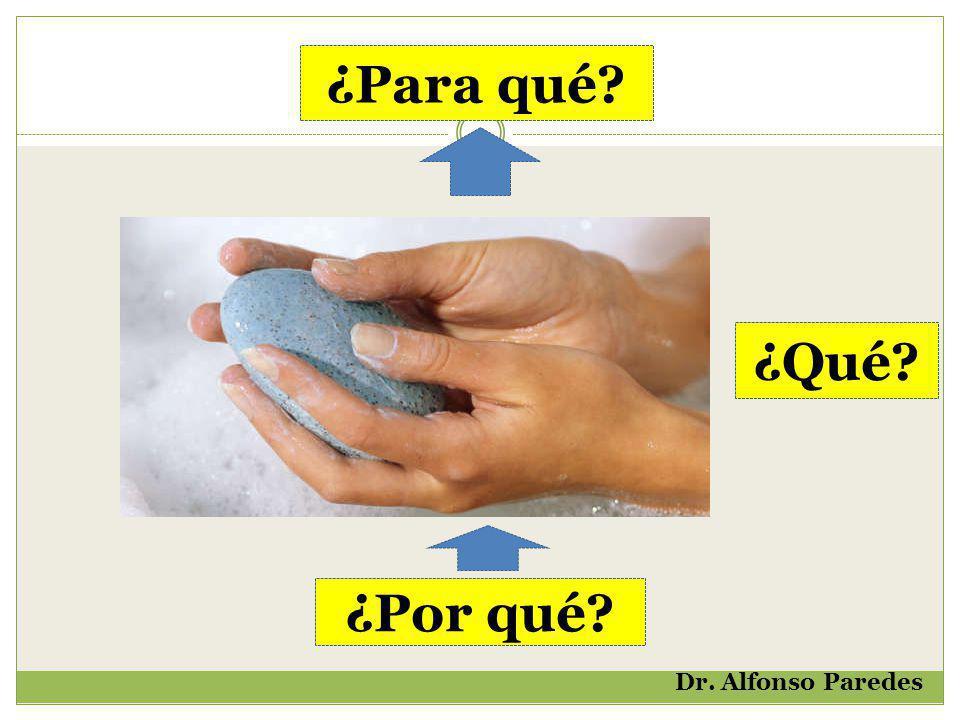 ¿Para qué? ¿Por qué? ¿Qué? Dr. Alfonso Paredes