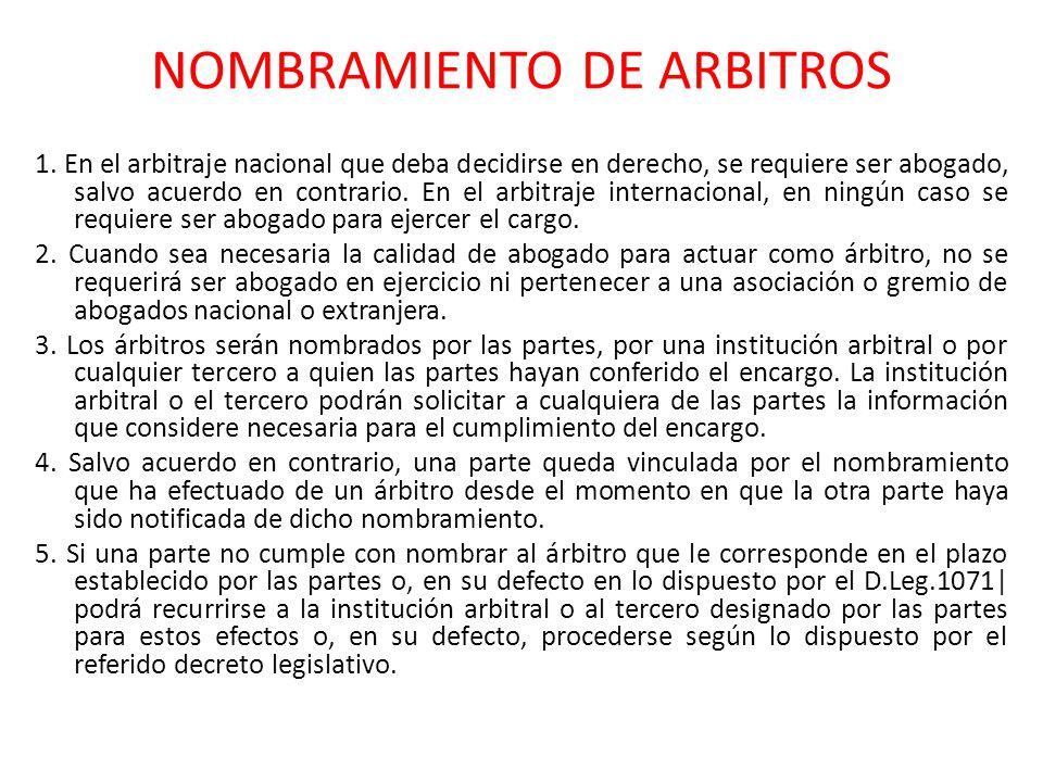 LIBERTAR EN EL NOMBRAMIENTO a.