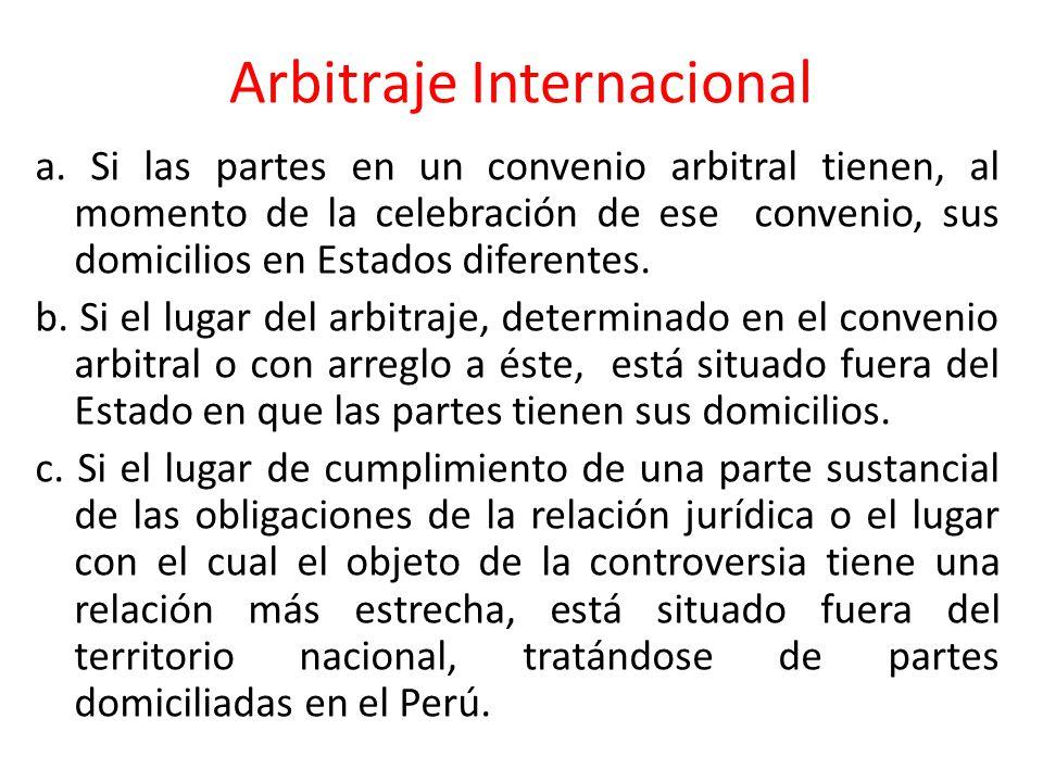 Arbitraje Ad Hoc o Institucional 1.