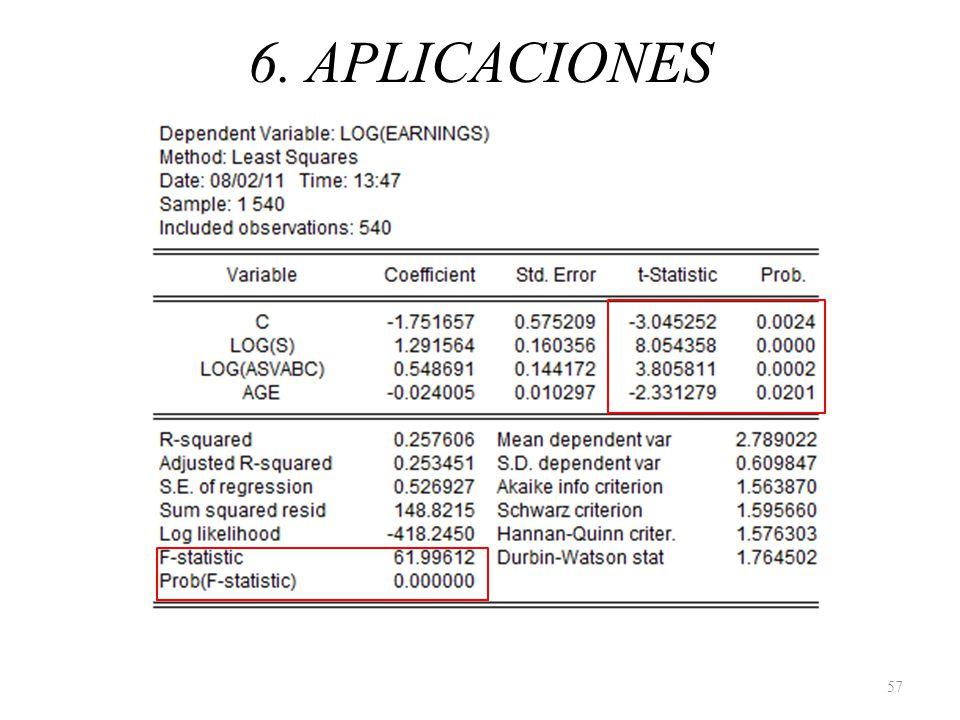 6. APLICACIONES 57