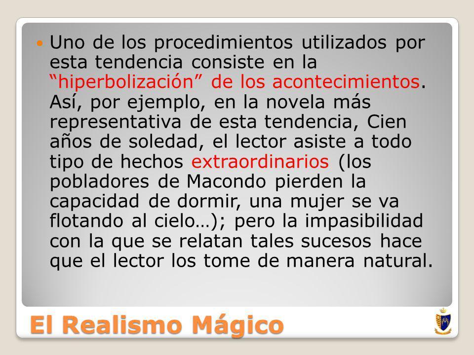 El Realismo Mágico En estos años surgió una tendencia literaria que Arturo Uslar Pietri denominó realismo mágico que plantea una superación del realismo, sin negarlo, añadiendo otra dimensión: la mágica, maravillosa o misteriosa.