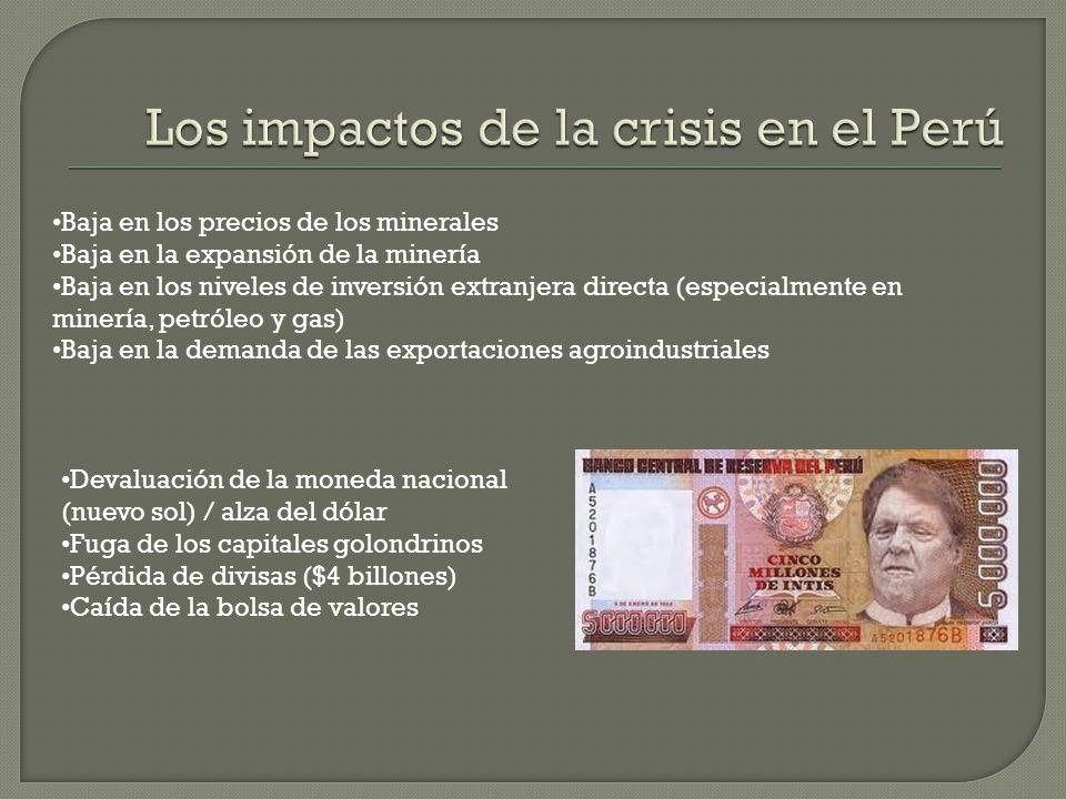 El sostenido crecimiento económico de las últimas dos décadas, sumado al incremento de los presupuestos en inversión social, ha permitido al Perú cump