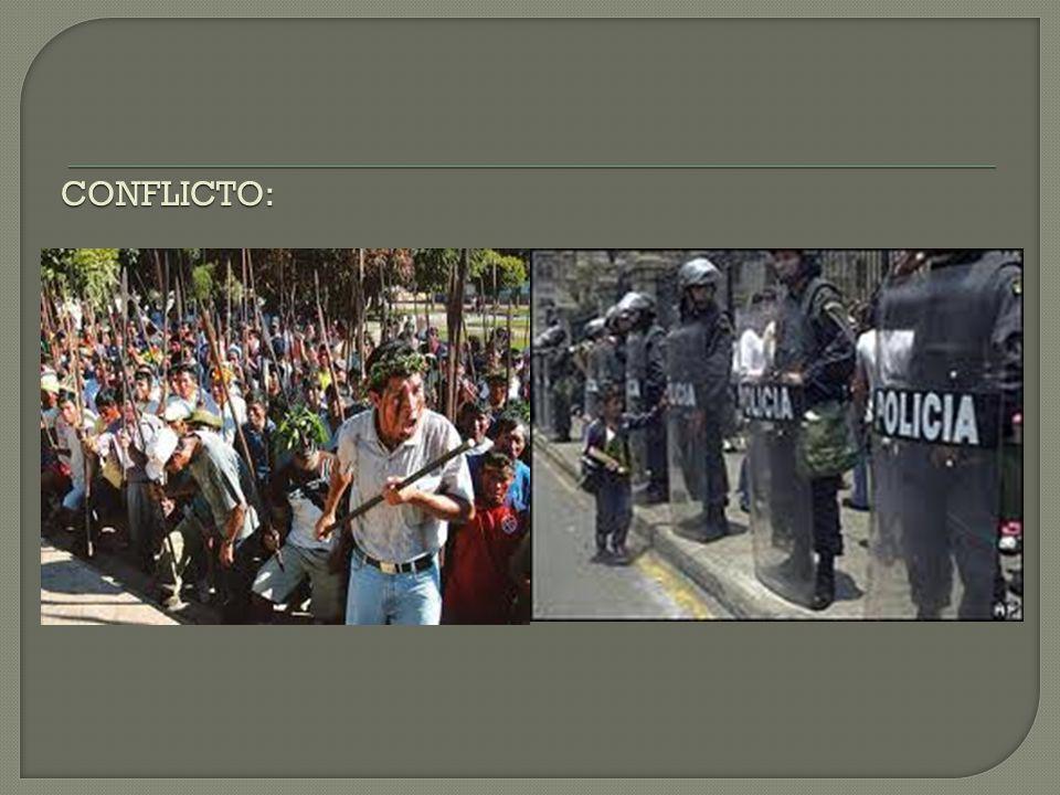 Es una serie de protestas en contra del gobierno peruano por parte de los indígenas amazónicos. Estos pueblos indígenas están en oposición a diversos