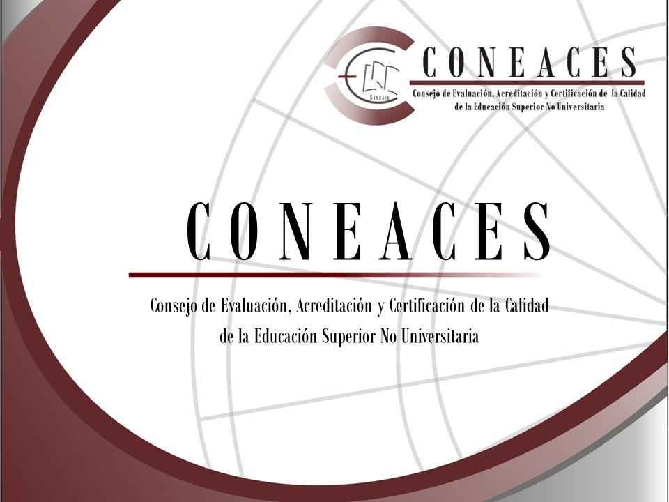 Consejo de Evaluación, Acreditación y Certificación de la Calidad de la Educación Superior No Universitaria