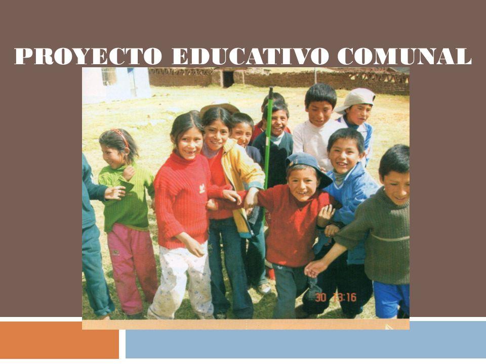 PROYECTO EDUCATIVO COMUNAL