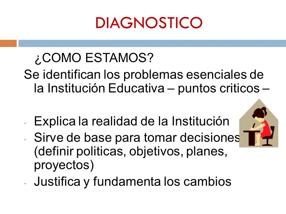 DIAGNOSTICO ¿COMO ESTAMOS.